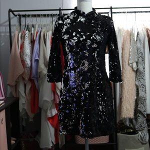 Zara Sequin Dresss XS